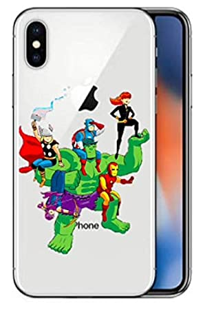 coque iphone xr avengers silicone