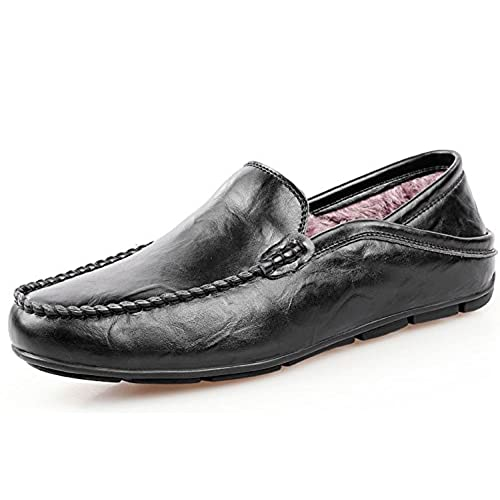 Men's Classy Fashion Driving Casual Loafers Boat Shoes Plus Velvet