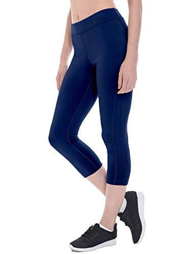 Navy Leggings Capri