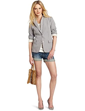 Maison Scotch Women's Unlined Summer Blazer Jacket, Blossom, 1 at ...