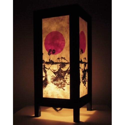 Bouddha Thaï Shipping Style Lampe Asie Rare Free De Tables