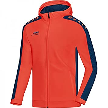 Jako Kapuzenjacke Striker Kinder Jacke Trainingsjacke Sportjacke Jacket 6816