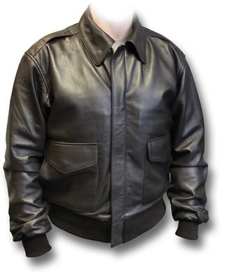 A2 USAAF Leather Flying Jacket with side pockets, 4x-large, brown ...