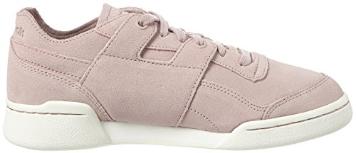 Lo Fbt Reebok Plus Workout Femme Rose Basses Sneakers Pink Shell aHwq65w