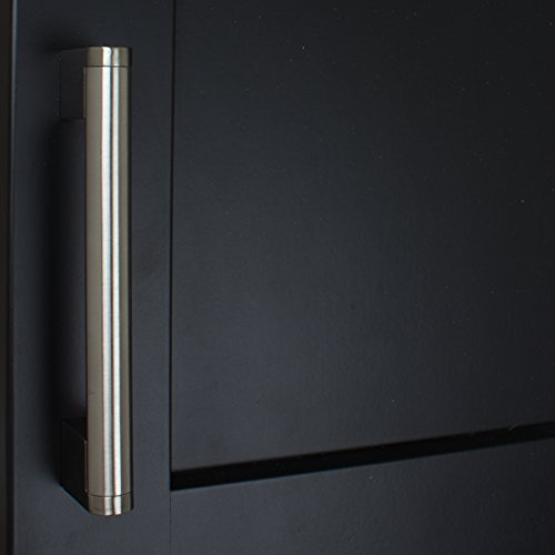GlideRite Hardware 52003-128-SN-50 Stainless Steel Round Cross Bar Cabinet Pulls, 50 Pack, 5'', Brushed Stainless Steel by GlideRite Hardware (Image #3)
