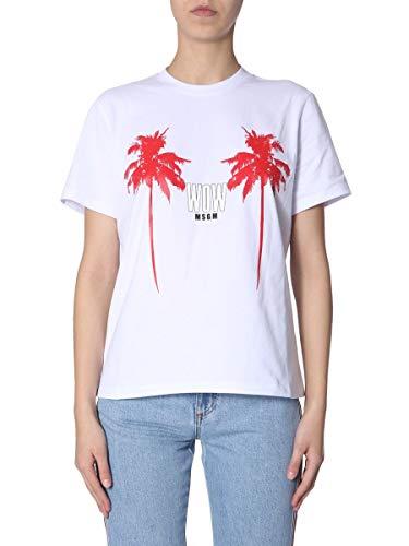 Bianco Msgm shirt T Cotone 2641mdm16619529801 Donna w4nxxRHzTq