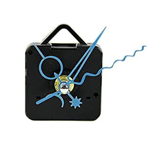 Hunulu diy quartz black wall clock spindle for Clock mechanisms for craft projects