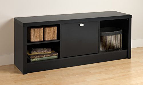 Black Series 9 Designer Cubbie Bench with Door