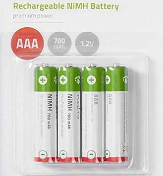 Batería batería de repuesto batería AAA para teléfono inalámbrico ...