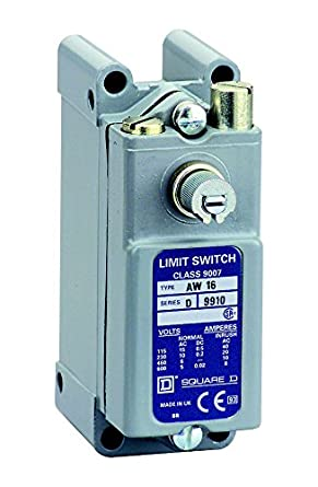 Square D por SCHNEIDER ELECTRIC 9007 AW16 límite Interruptor, Enchufe estándar caja, operada con