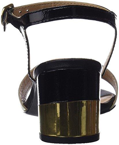 Black 44131 Donna Nero Gioseppo col Punta Scarpe Aperta Tacco 8n6zpOx
