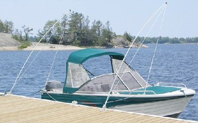 New Howell Economy Mooring Whip dock Edge 3120-f Length 12' Max Load 4 000 lbs.
