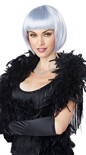 Creative Group Halloween Costumes 2016 (California Costumes Women's Flapper Wig, Lavender/Gray, One Size)