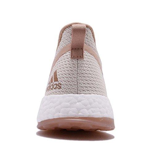 Adidas Donne Pureboost X Clima, Off White / Cenere Perla / Orchidea Tinta Off White / Perla Cenere / Orchidea Tinta