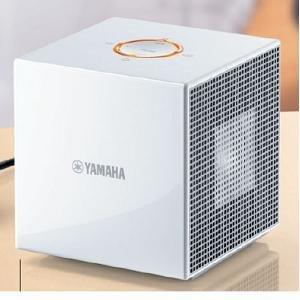 Portable Headphones White Wh (Yamaha NX-A01 Natural Sound Compact Cube Speaker (White))