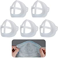 3D Face Mask Bracket Inner Support Frame Nasal Mask Pad Support Bracket Breathing Mouth and Nose Protection Lipstick…