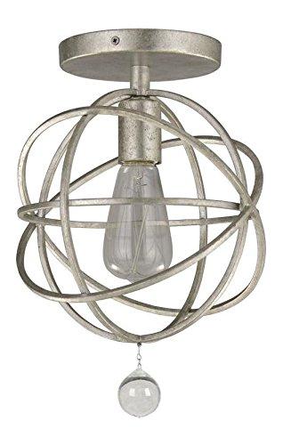 Amazon.com: crystorama Solaris 1 – Lámpara de techo para ...