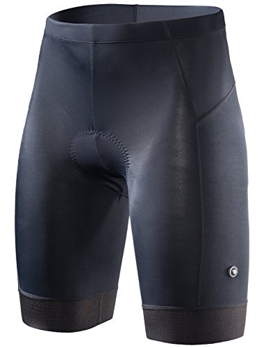 RION CYCLING Women's Bike Shorts Padded Tights Bicycle Pants (Steed-A8, M)