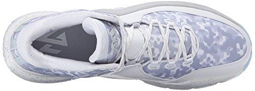 Adidas Performance Mens Muro J 2 Basket Bianco / Trasparente / Grigio