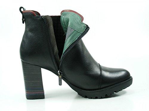 Pikolinos W7M-8709 Connelly Schuhe Damen Ankle Boots Stiefeletten Schwarz
