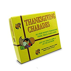 Best Epic Trends 41%2B%2B3PRP9tL._SS300_ Anton Publications Thanksgiving Charades Game | This Classic and Original Thanksgiving Game is the perfect addition to…