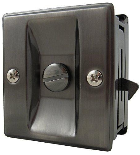 Stone Harborハードウェア、正方形ポケットドアロック、hl82105 B01BMVZINO 14693