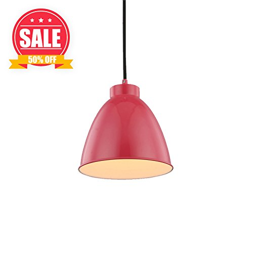 Kitchen Pendant Light Red