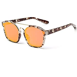 Heartisan Fashion Oversized Rimmed Sungrasses Sexy Eyewear UV Protection C6