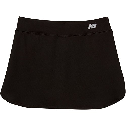 New Balance Big Girls' Performance Skorts, Black, 16 (Golf Clothes For Girls)
