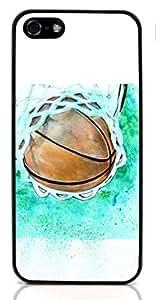 Basketball SportHard Case for Apple iPhone 5/5S ( Sugar Skull ) BY TOBETO