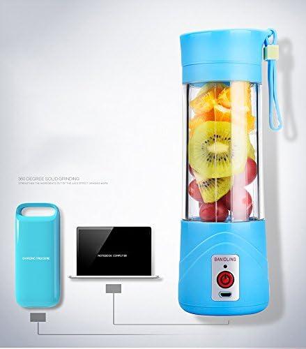 QYC® Mini Batidora Portátil, Licuadora para fruta, Recargable ...