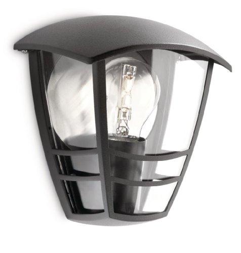 Philips creek lampada da parete da esterno, lanterna luce diffusa ...