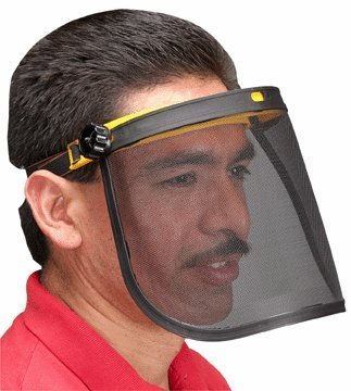 Western Safety Mesh Face Shield
