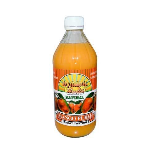 Dynamic Health Mango Puree - Dynamic Health Natural Mango Puree Juice, 16 Ounce - 6 per case.