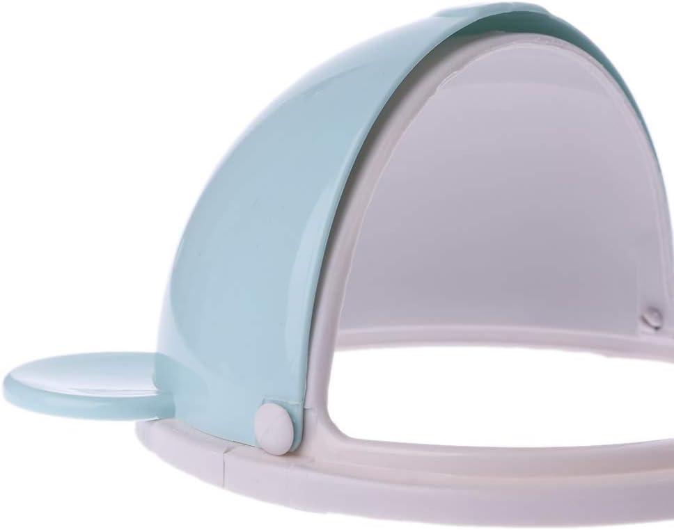 Rosa CADANIA Mini Abfalleimer Desktop M/üllkorb Tisch Home M/ülleimer Schwenkdeckel B/är Form 1.5L