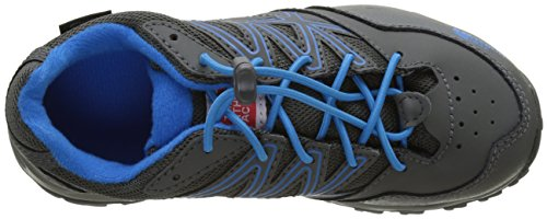 The North Face Hedgehog, Botas de Senderismo Para Niños Varios colores (Graphite Greybrilliant Blue)