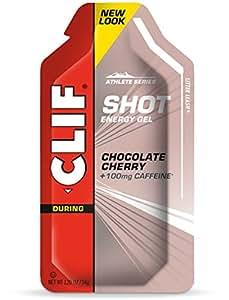 CLIF SHOT - Energy Gel - Chocolate Cherry - (1.2 oz, 24 Count)