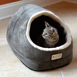 Machine Washable Armarkat Sage Green Cat Bed (Beds Discount Cat)