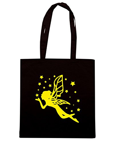 T-Shirtshock - Bolsa para la compra FUN0578 ange fairie 38102 Negro