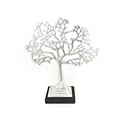 Boutique Collection Metal Living Tree Jewelry Stand
