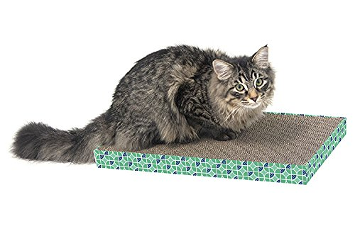 Kitty City XL Wide Corrugate Scratchers, 3 Piece(Longer Lasting Cardboard)