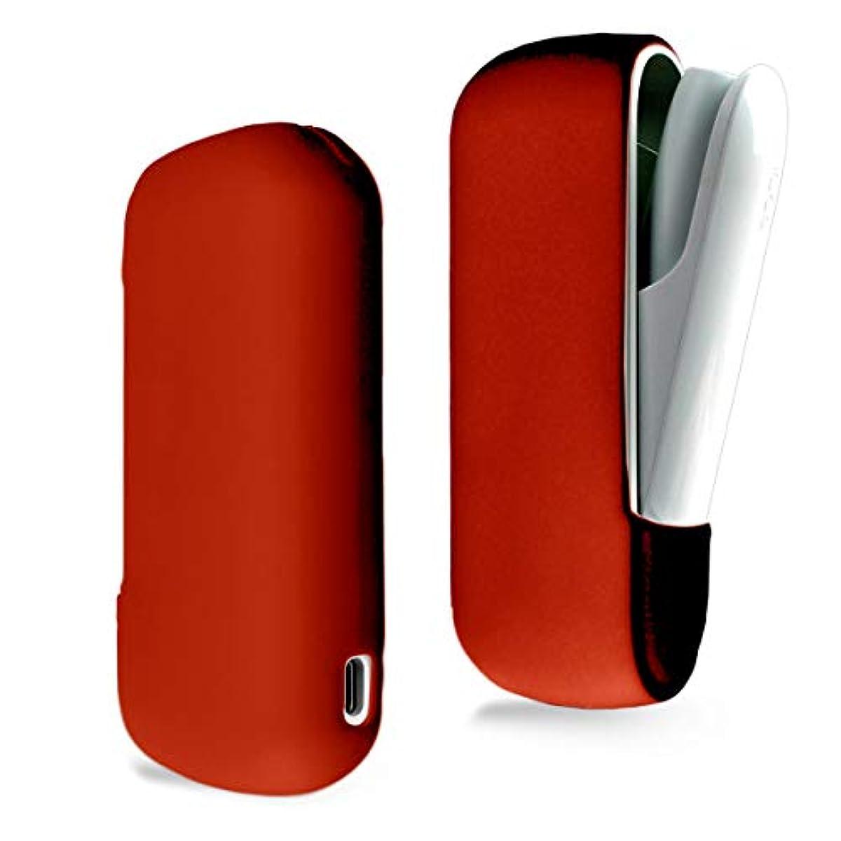 [해외] HIGH FIVE 아이고스3 케이스 신형 IQOS3 전용 실리콘 슬리브 케이스 아이고스3 커버 소프트 콤팩트 본체 수납 홀더 레드
