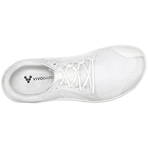 Vivobarefoot Mens Primus Lite Mesh Trainers White
