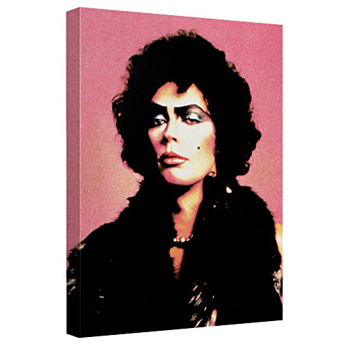 Frank -- Rocky Horror Picture Show -- Stretched Canvas Framed Artwrap, 12x16 (Horror Rocky Picture Show Merchandise)