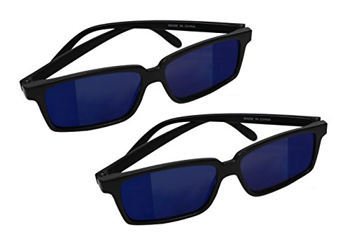 Spy Glasses With Rearview Mirror Vision To See Behind You - 2 - Look Sunglasses Behind Spy