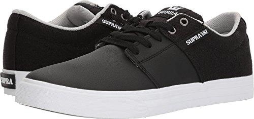 Supra Stacks Vulc Ii Sneaker Nero / Grigio Freddo / Bianco