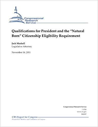 Qualifications for President and the