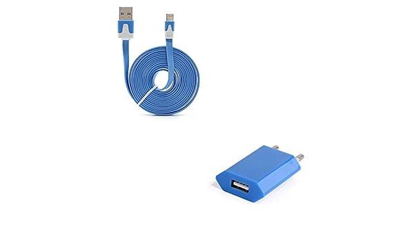 Shot Case Pack Cargador para iPhone XS MAX Lightning (Cable Noodle ...