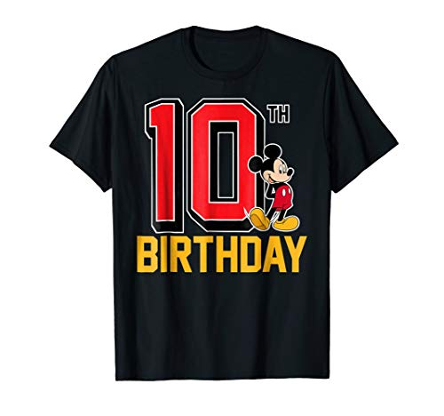 Disney Mickey Mouse 10th Birthday T-shirt
