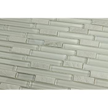4 Quot X 6 Quot Sample Bliss Norwegian Ice White Stone And Glass